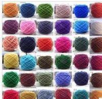 multi color acrylic knitting yarn
