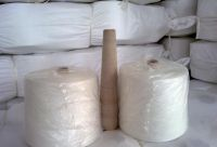 100% Dyed Polyester Cotton Recycled Yarn For Weaving Kinntting