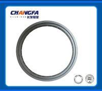 Aluminum motorcycle wheel rim