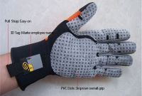 Oil and gas waterproof working gloves Water Resistant safety gloves Waterproof safety gloves