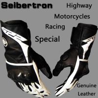 Seibertron SP2 Gloves Genuine Leather Motocross glovesHighway Auto Motorcycle Racing sports gloves