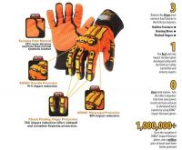 ironclad kong Mining, Demolition, Heavy Construction, Rigging gloves