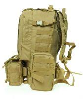 Seibertron Assault Pack Portfolio Bag- MultiCam