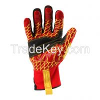 Ironclad Kong Krc5 Rigger Grip Cut 5 High Visibility Safety Gloves Impact Gloves Protection Gloves Durable Working Gloves
