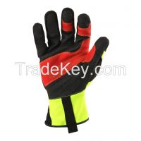Ironclad Kong Krig Rigger High Visibility Safety Gloves Impact Gloves Working Gloves Protection Gloves