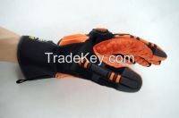 Ironclad Kong Sdxo Slip and Oil Resistant High Visibility Maximum Grip Safety Gloves Impact Gloves Protection Gloves