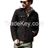 Seibertron Men Tactical Hooded Jacket
