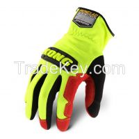 Ironclad Kong Kpor Operator High Visibility Safety Gloves Impact Gloves Working Gloves