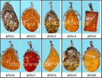 Fashion Amber Pendants