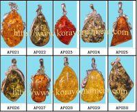 Amber Pendants