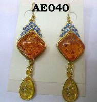 Fashion Amber Earrings