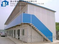 slope-roof prefab house