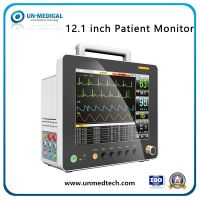 12.1 Inch Vital Sign Monitor Multi-Parameters Patient Monitor with ECG+SpO2+NIBP