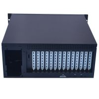 Good quality 4U With Keyboard and LCD Display Industrial All In One Workstations