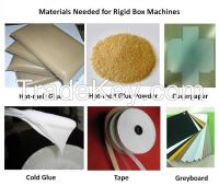 HM-TDG500 Semi-auto Rigid Box Making Machine Line