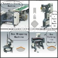 HM-TDG500 Semi-auto Rigid Box Making Machine Line
