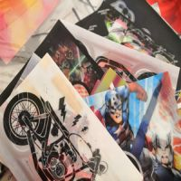 soft tpu lenticular printing 3d flip fabric lenticular clothing for t-shirts clothes