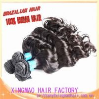 Factory price AAAAAA grade loose wave Brazilian virgin hair weave