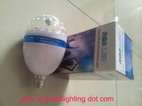 Voice Activated LED Stage Bulb Light