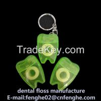 15m mint flavor tooth shape dental floss