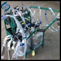 dairy farm cow goat piston milking machine