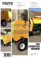 china hay baler with good quality