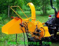 WC-8H hydraulic feeding wood chipper