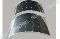 Thin flexible mono solar panel