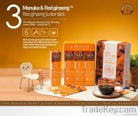 Manuka Honey blended with Korean Red Ginseng - Junior Stick (30Sticks)
