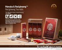 Manuka Honey blended with Korean Red Ginseng- Tour stick  (5Sticks)