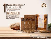 Manuka Honey blended with Korean Red Ginseng - King stick  (5Sticks)