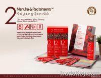 Manuka Honey blended with Korean Red Ginseng - Queen stick (5Sticks)