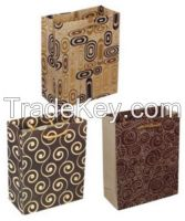 2015 Hot Sell Recyclable Paper Bag with Handles use in Party and Shopping Centre