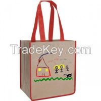 2015 Hot Sell Non Woven Bags Tote Used in Shopping and Party