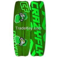 2014 CrazyFly Shox Green Kiteboard