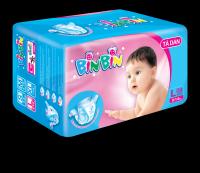 Medium Quality Baby Diaper brand BINBIN with cheap price