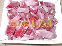 Offer synthetic ruby raw material with low price, fracture of ruby material F Grade