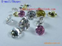 Cubic Zirconia Material and Rough Gemstone CZ Rough Gems Cubic Zircon Loose Gemstone