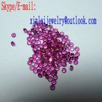 Synthetic Ruby Loose Gemstone red corundum Rough Gems Synthetic corundum Gems