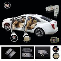 2X Latest LED Car door laser projector ghost Logo Shadow light for CADILLAC