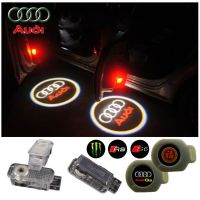 2X Latest LED Car door laser projector ghost Logo Shadow light for Audi
