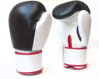 BLACK RED BOXING GLOVES