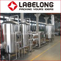 High Quality Pure Water/Spring Water RO Water Treatment System