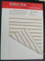 nylon spandex golden thread stripe fabric used for swimwear