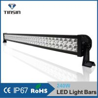 "41.5"" 240W LED Light Bar Work Light lamp Jeep Boat Off Road 4WD , 80 PCS*3w High Intensity LEDs"