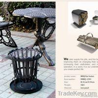 outdoor cast iron fireplace