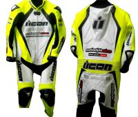 Cowhide Leather Motorcycle Suit