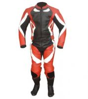 Red and black Racing Motorcycle Suit