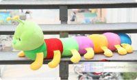 colorful caterpillars doll/teddy bear/intelligent barbie doll