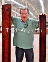 Mexican Cocobolo with CITES